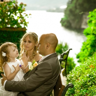 Wedding in Villa Balbianello lake como