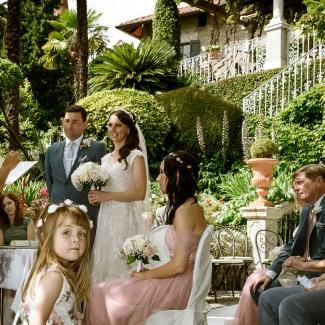 Fotografo di matrimonio: dall' inghilterra a villa cipressi matrimonio sul lago di como