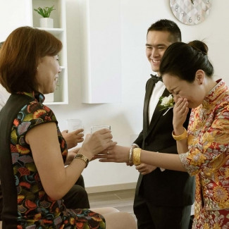 Fotografo di Matrimonio: Matrimonio tradizionale cinese sul lago di Como