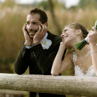 Fotografo di matrimonio: un semplice e giovane matrimonio italiano a La Madonnina Barni