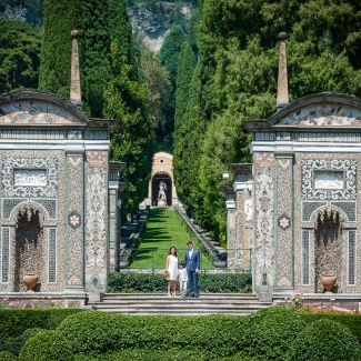 Fotografo di Matrimoni: intimo matrimonio aVilla d' Este Cernobbio