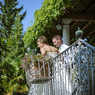 Fotografo di matrimonio: matrimonio estivo a Villa Cipressi, lago di Como