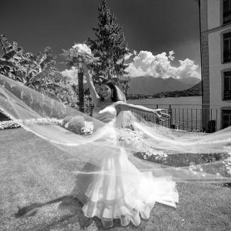 Fotografo di matrimonio: Matrimonio stupendo dagli USA alla loggia Durini Villa Balbianello Lago di Como