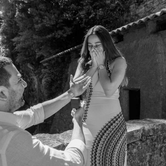 Fotografo Lago di Como: Dal Libano al lago di Como una fantastica proposta di matrimonio
