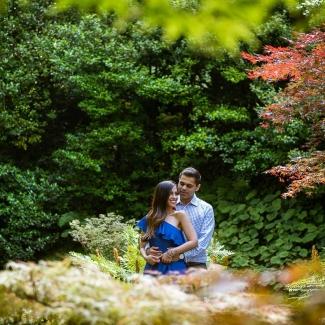 Fotografo Lago di Como: Dall' USA a Bellagio, Villa Melzi per una sorprendente proposta di matrimonio