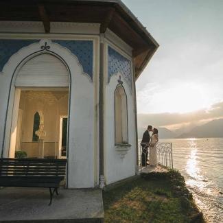Fotografo di matrimonio: elopement a Villa Melzi Bellagio Lago di Como