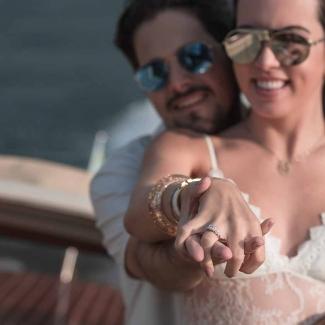 Fotografo di matrimonio: proposta di matrimonio a Villa Melzi, Bellagio